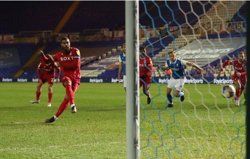 Lewis Grabban rescues point for Nottingham Forest against Birmingham City