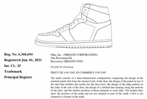 Nike Nabs a Number of New Trademark Registrations, While it Sets its Sights on More