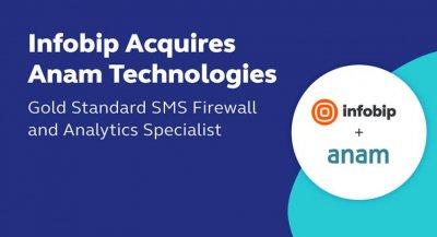 Infobip Acquires A2P SMS Firewall Vendor Anam