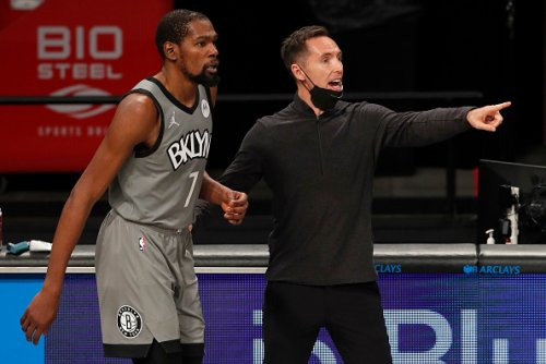 What are the Steve Nash memes? Moment between Nets coach and Kevin Durant goes viral