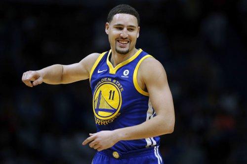'Headband Klay': Warriors fans react to 'Headband Klay' Thompson return
