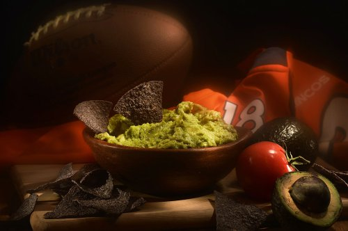 How many pounds of guacamole are consumed on Superbowl Sunday?