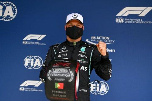 Advantage Bottas for Portuguese Grand Prix as Hamilton made to wait for landmark pole