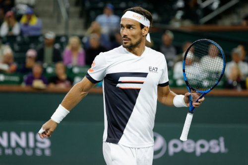 What did Fognini say to Tsitsipas at Indian Wells, as things get heated?