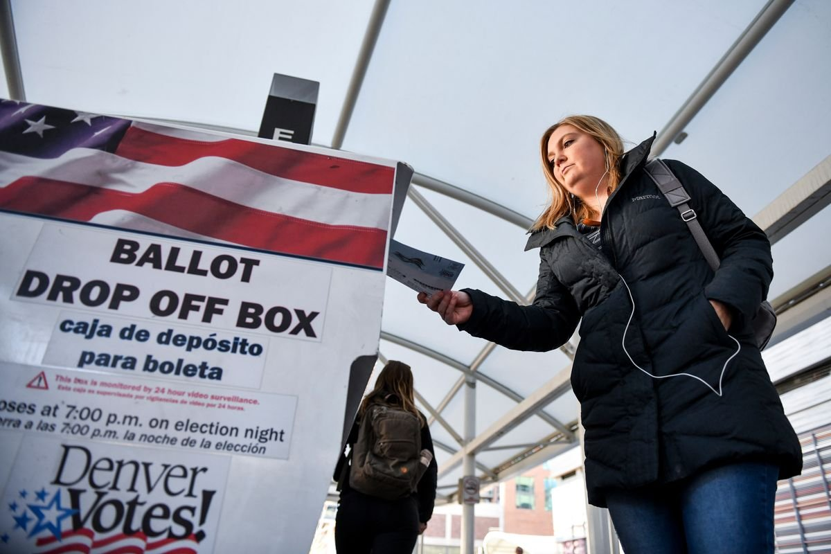 How Colorado became the model for running an election by mail