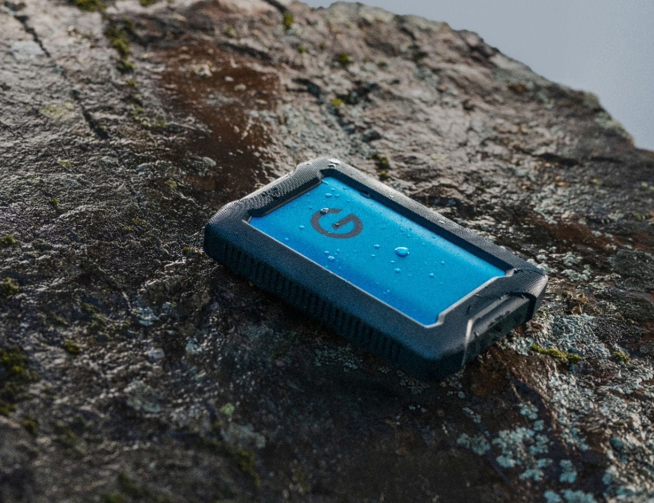 Western Digital G-Technology ArmorATD Rugged Portable Hard Drive handles your adventurous lifestyle