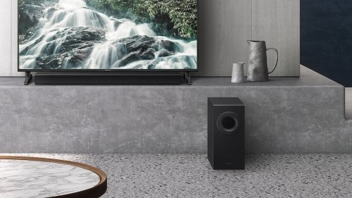Panasonic SC-HTB490 Slim Soundbar and Wireless Subwoofer deliver a cinematic experience