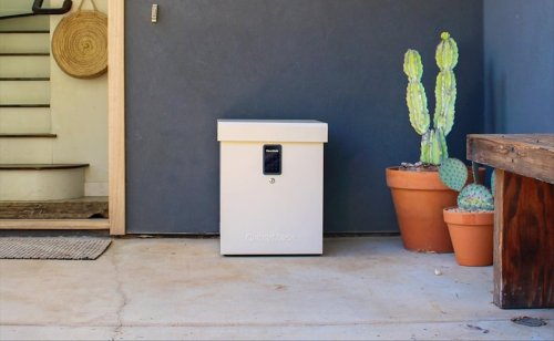 Clevermade LockBox package locker protects your deliveries from theft