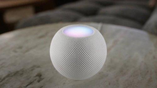 Apple HomePod mini smart speaker boasts intelligent computational audio