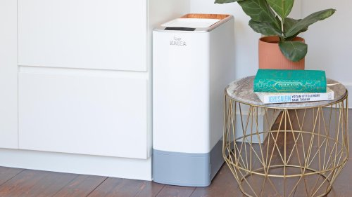 KALEA automatic kitchen composter transforms food scraps into nutrient-rich fertilizer
