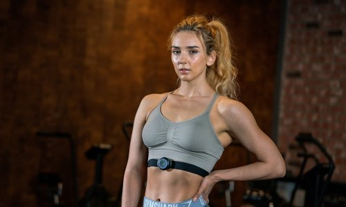 This high-tech fitness wearable gives you real-time feedback and tailored training