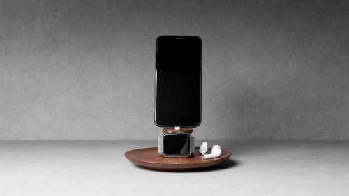 Yohann iPhone and Apple Watch Charging Stand powers up both devices simultaneously