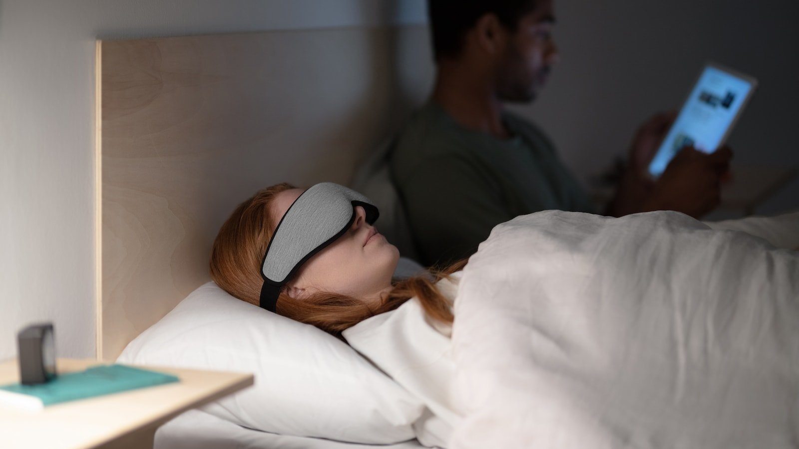 Ostrichpillow Ergonomic Eye Mask has a 3D design that adapts to the features of your face
