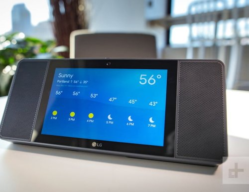 LG XBOOM AI ThinQ WK9 Smart Display Speaker