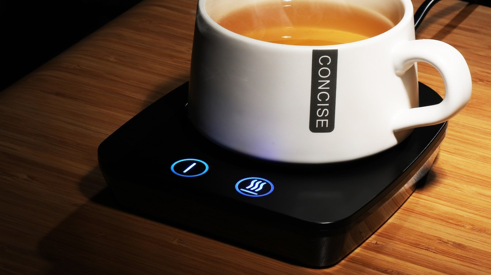 VOBAGA Coffee Mug Warmer has three temperature settings