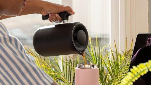 Fellow Clara French Press user-friendly coffee maker contains an interior ratio aid