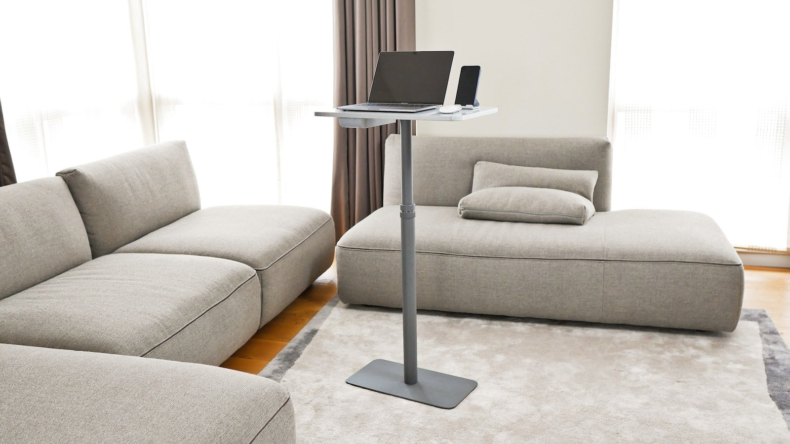 Remotable portable desk helps you stay healthy and productive when working from home