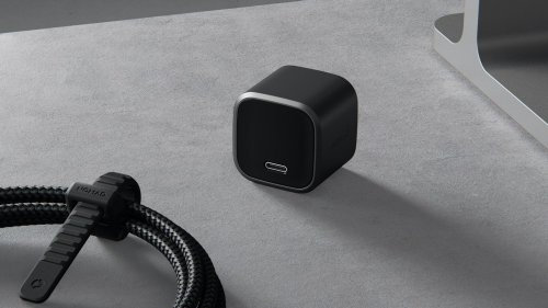 Nomad 20W USB-C Power Adapter is portable and powerful for convenient charging on the go
