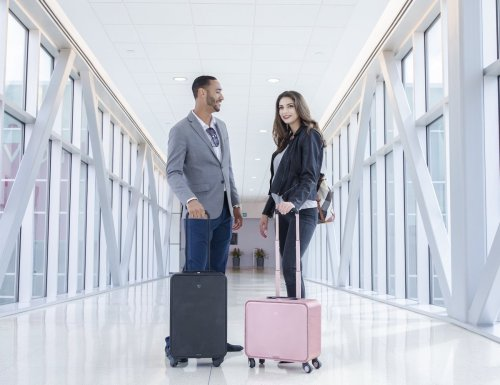 TUPLUS S2 aluminum compact carry-on makes traveling more enjoyable