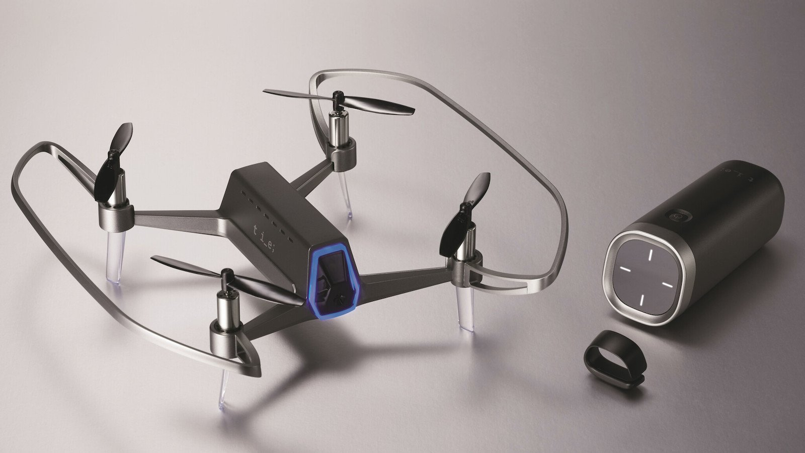 SHIFT RED Compact Drone lets you control it with just your thumb