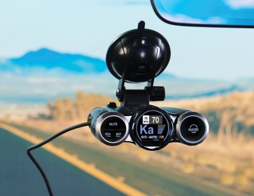 Cobra Road Scout Radar-Detecting Dash Cam monitors and alerts you about road threats