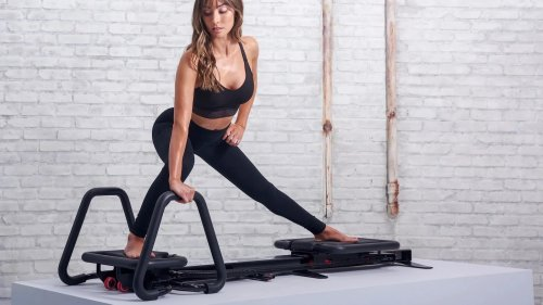 Workout anywhere with ease using this lagree fitness equipment