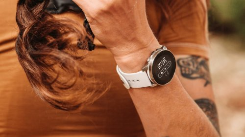 Suunto 9 Peak GPS watch features grade 5 titanium for lighter weight and comfortable wear