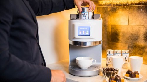ColdSnap frozen treat machine makes ice-cold food in just four steps