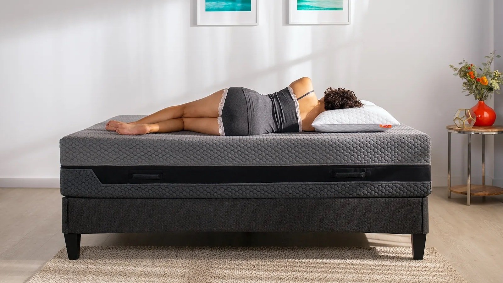 Layla Sleep Hybrid Mattress has both memory foam and coil springs