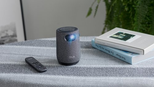 ASUS ZenBeam Latte L1 portable projector is the size of a coffee mug