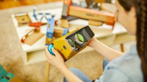 Nintendo Labo Toy-Con 04 VR kit allows kids to enjoy virtual reality