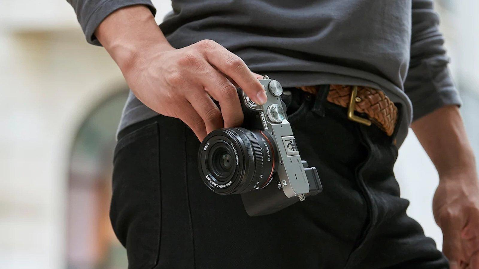 Sony Alpha a7C mirrorless digital camera has 5 stops of shake reduction