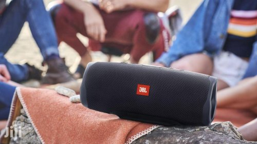 JBL Charge 4 portable Bluetooth speaker offers up to 20 hours of playtime