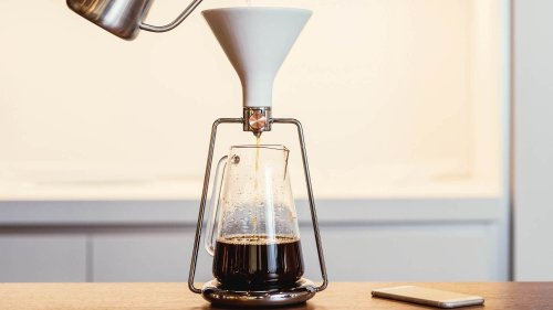 GOAT STORY GINA smart coffee instrument lets you brew in three different ways