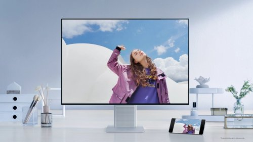 HUAWEI MateView wireless smart monitor features Wireless Projection for work efficiency
