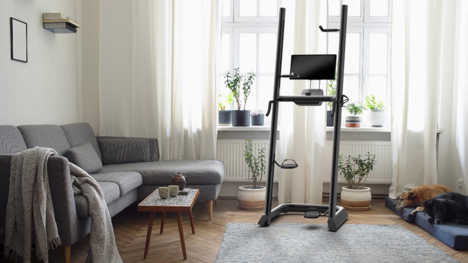 CLMBR Connected climbing machine keeps your body in the correct position