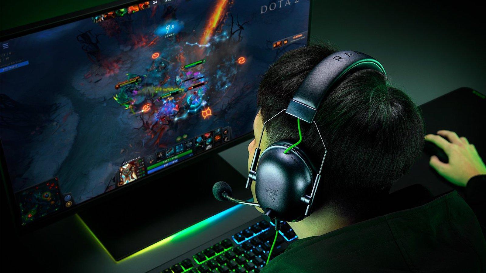 Razer BlackShark V2 X wired gaming headset offers noise cancellation