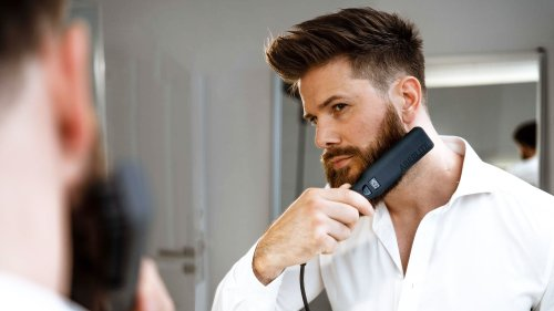 Aberlite Pro advanced purpose-built beard and hair straightener works in just 2 minutes