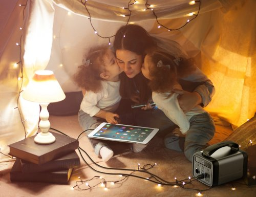 Anker Powerhouse 200 Portable Charging Station is great for charging your devices on the go