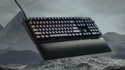 Razer Huntsman V2 Analog gaming keyboard lets you customize the buttons