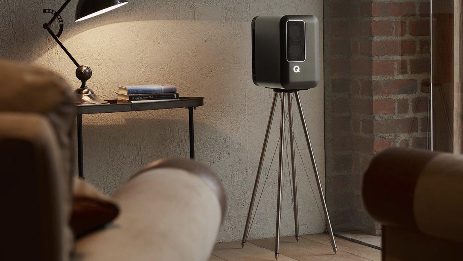 Q Acoustics Active 200 Speakers deliver uncompromised sound and boast a unique, convenient design