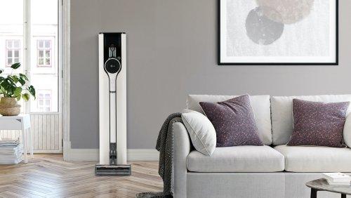 LG CordZero ThinQ A9 Kompressor+ stick vacuum cleans all floor types