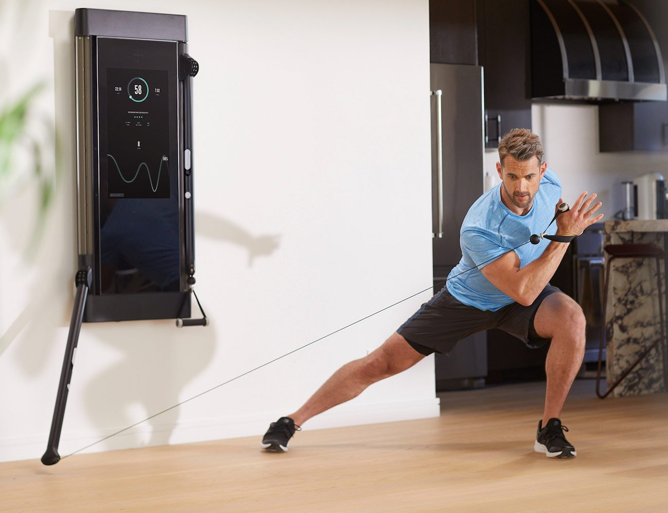 Tonal intelligent fitness system is the future of interactive, at-home exercising