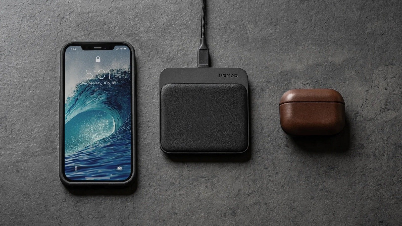Nomad Base Station Mini full-surface wireless charger uses a 15-watt transmitter coil