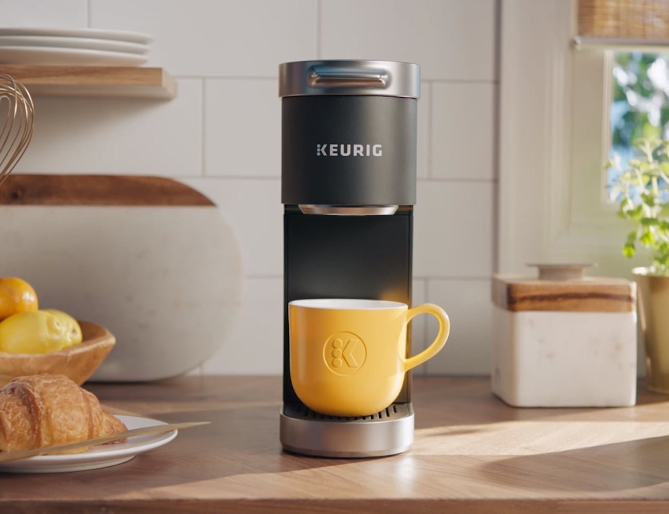 Keurig K-Mini Plus portable coffee maker lets you enjoy truly great coffee anywhere