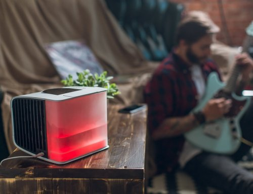Evapolar evaSMART Smart Personal Air Conditioner humidifies and purifies your air