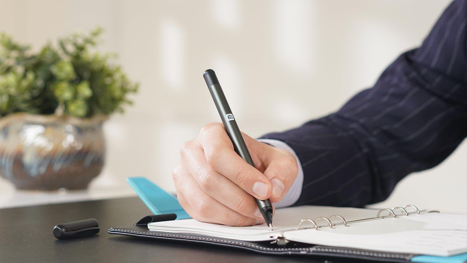 SyncPen 2nd Generation Smart Pen Writing System lets you take notes effortlessly
