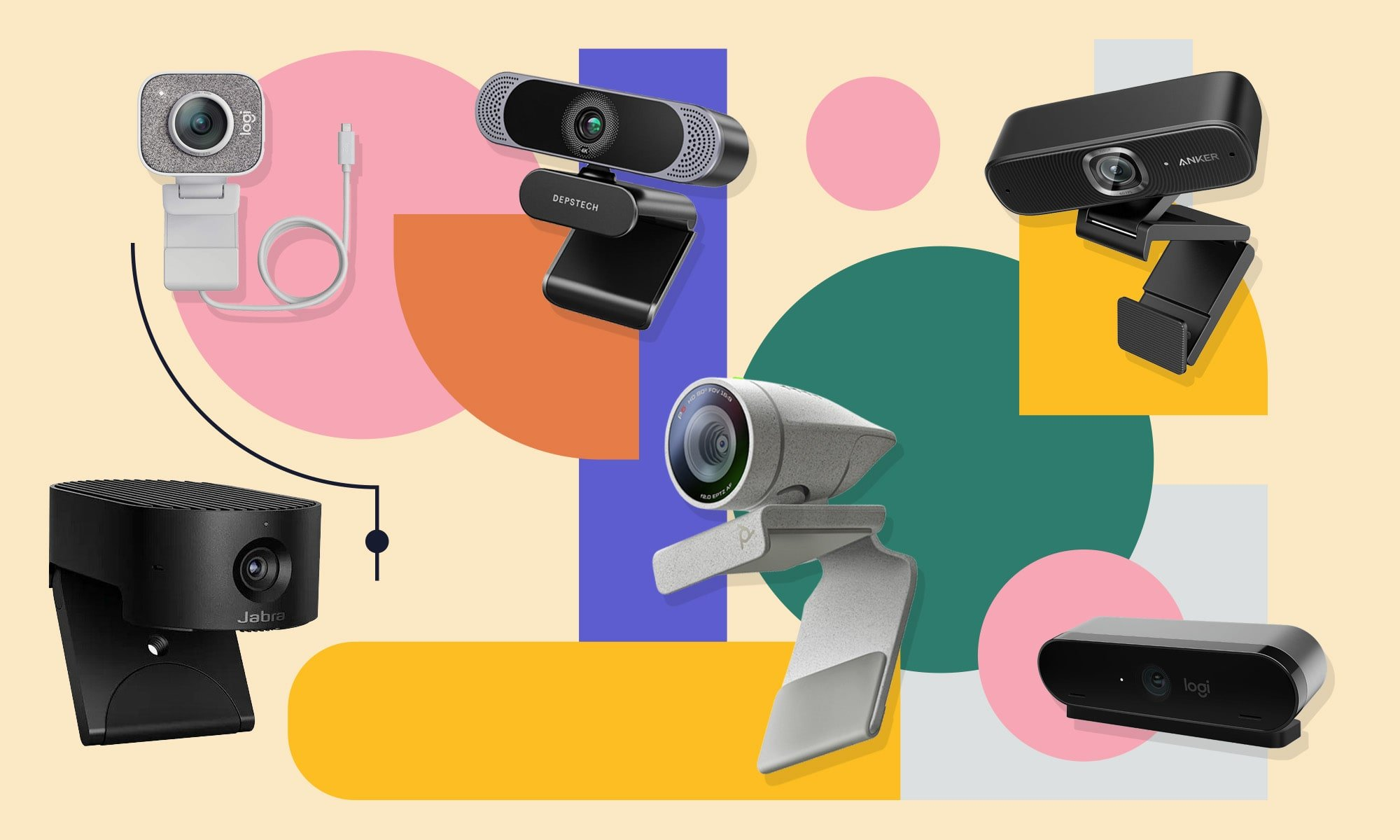 Here are the best webcams you can buy for your virtual work-from-home setup - cover