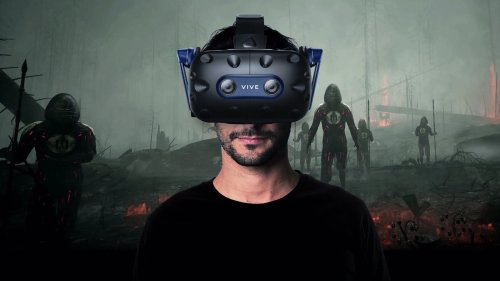 HTC Vive Pro 2 VR headset has a 120 Hz refresh rate and impressive 5K resolution