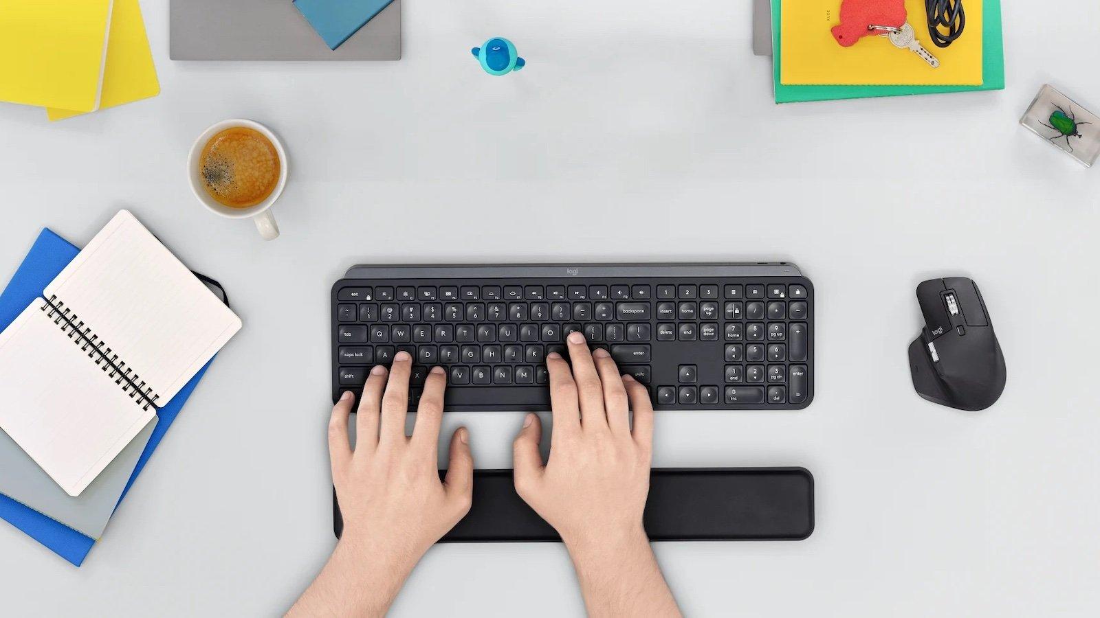Logitech Master Series MX Keys creative keyboard boasts a fluid, natural keystroke